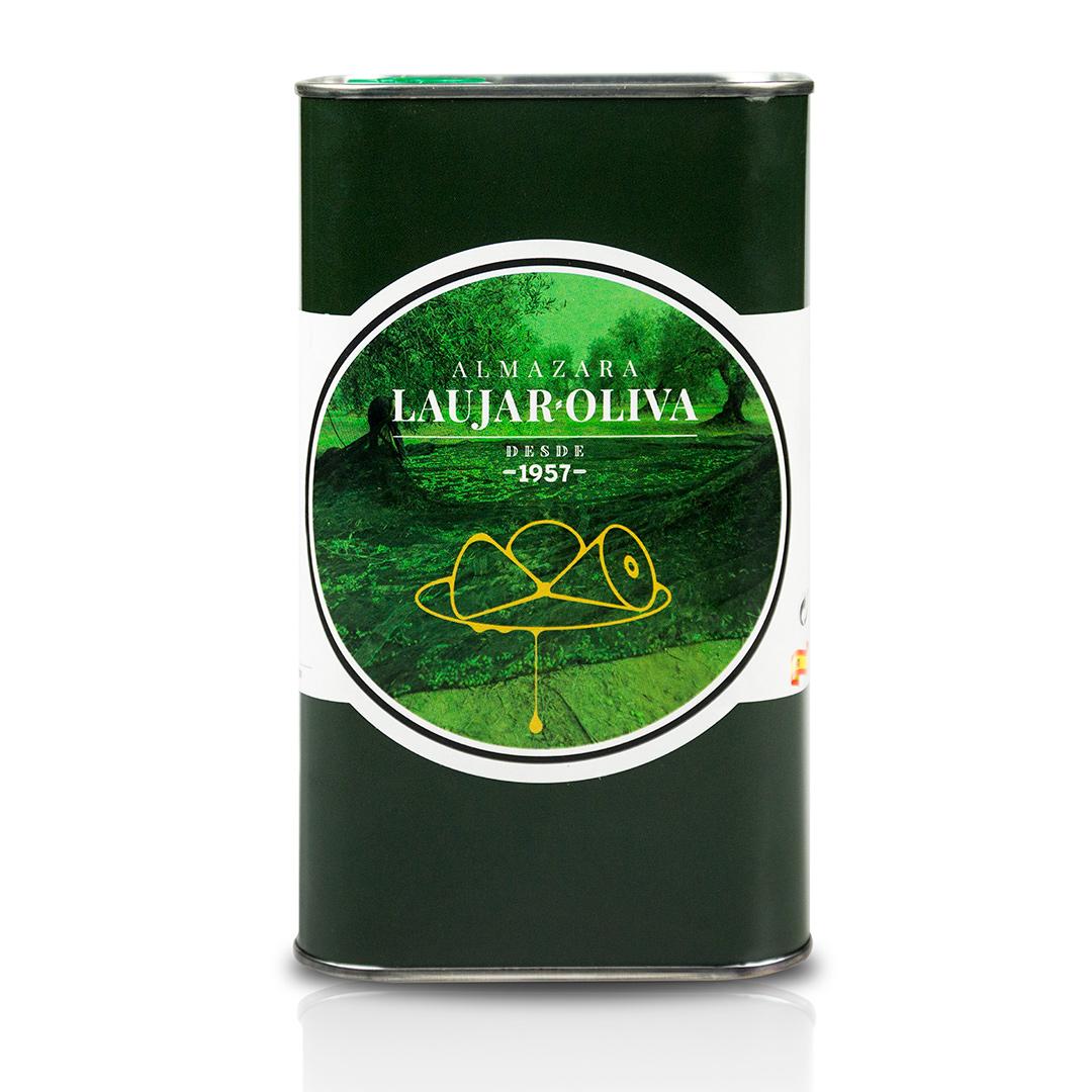 3L Aceite de oliva Virgen Extra en Lata. 1 Caja con 5 unidades de 3L Total 15L.