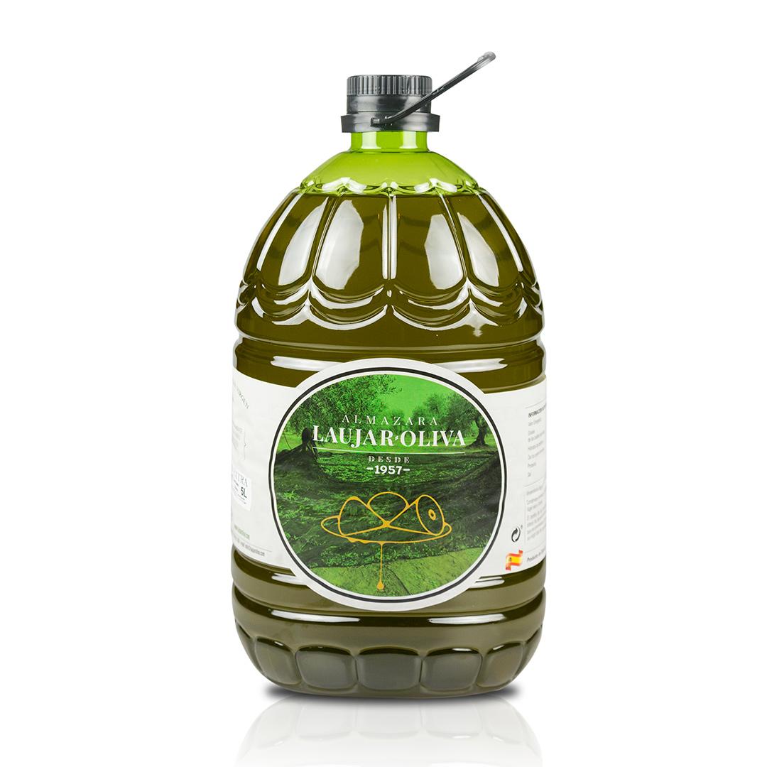 5L Aceite de oliva Virgen Extra. 1 Caja con 4 unidades de 5L