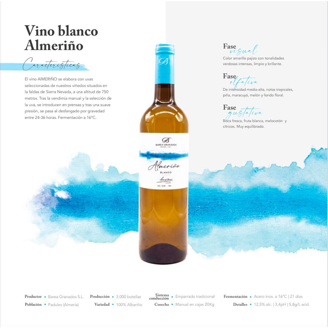 Vino blanco Almeriño