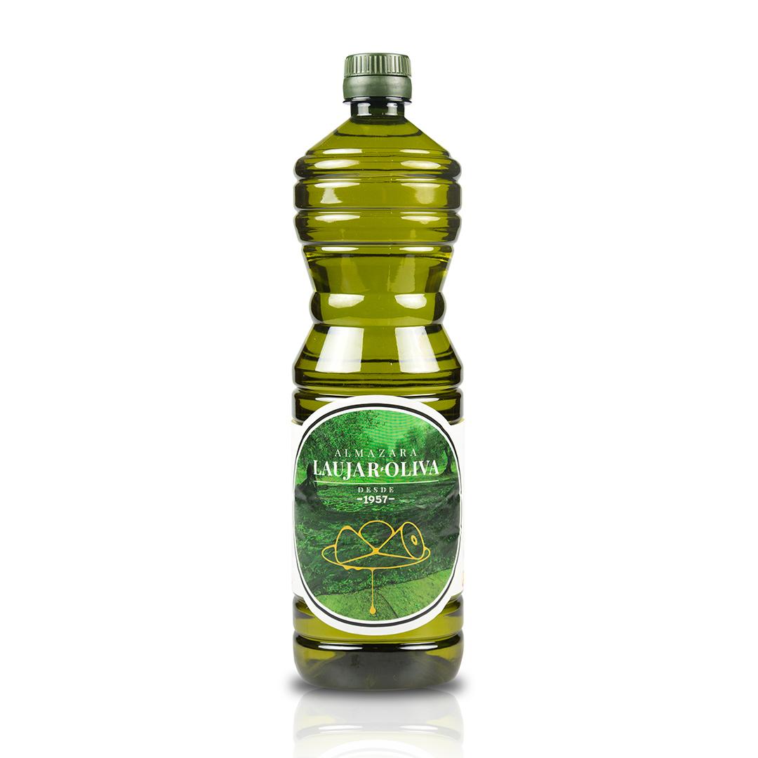 1 L. Aceite de oliva Virgen Extra. 1 Caja contenido 16 unidades.