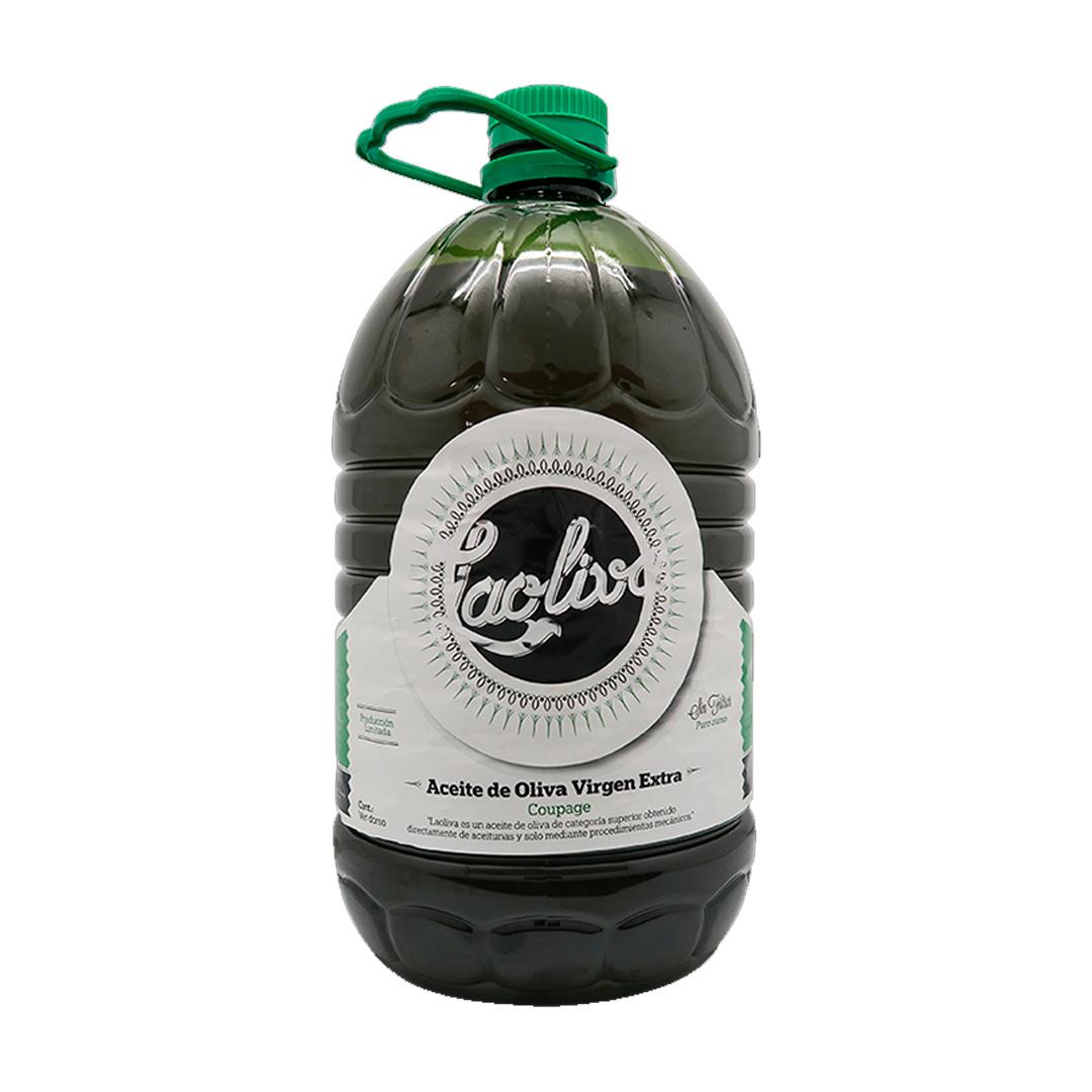 5L Aceite de oliva Virgen Extra sin filtrar 3 Garrafas. Contenido total 15L